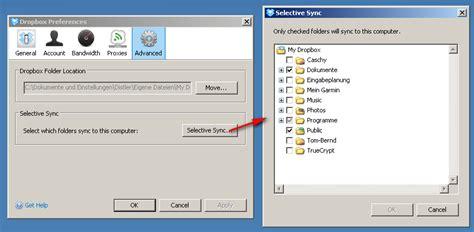 dropbox selective sync dropbox ab sofort mit selective sync bernds rappelkiste