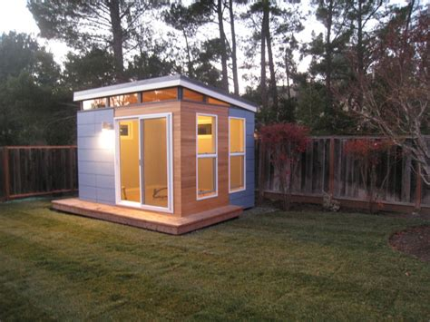 backyard office building home office incredible prefab home office to build in your