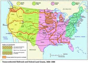 railroad maps american history transcontinental railroads pronk