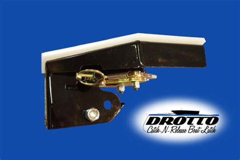boat trailer automatic bow latch drotto automatic boat latch detail catch n release