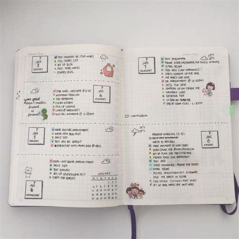 doodle calendar set up 1000 id 233 es sur le th 232 me bullet journal key sur