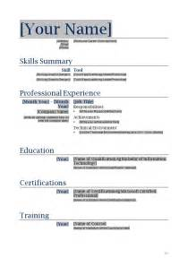 Sle Blank Resume Form by Free Printable Blank Resume Forms 792 Http Topresume Info 2014 12 01 Free Printable Blank