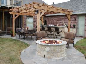 Flat Rock Fire Pit - diy outdoor fireplace for back yard