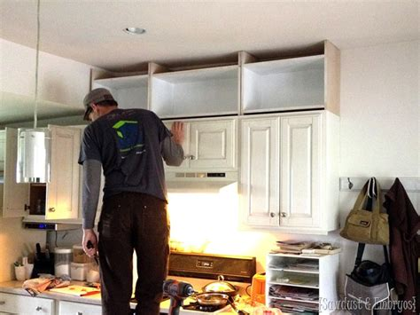 extending kitchen cabinets to ceiling extending kitchen cabinets up to the ceiling reality