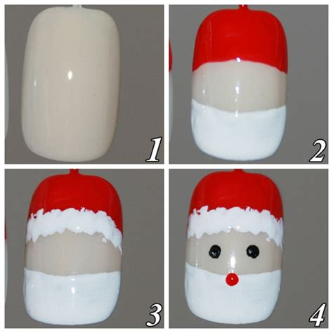 tutorial nail art natal unhas decoradas para natal passo a passo