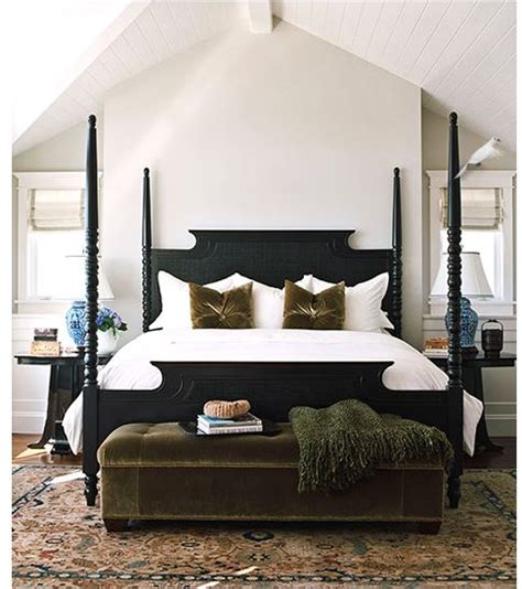 black poster bed when to decorate above the bed tidbits twine