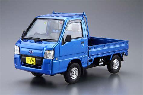 subaru truck subaru tt2 sambar truck wr blue aoshima 05155