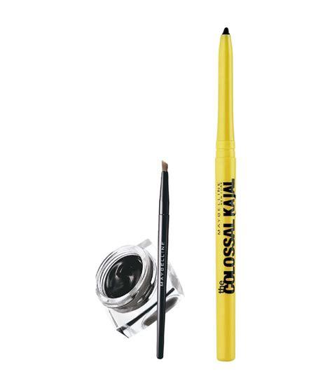 Eyeliner Colossal Kajal Maybelline Rs 150 maybelline drama gel liner with colossal kajal free buy maybelline drama gel liner with