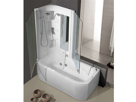 vasca idromassaggio con doccia vasche doccia combinate foto 6 40 design mag