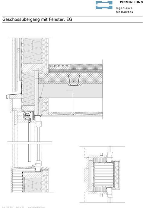 traufgesims detail holzbau detail decke emphit