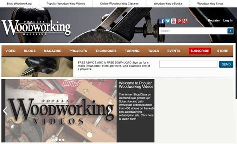best woodworking magazine for beginners top 27 woodworking blogs for beginners