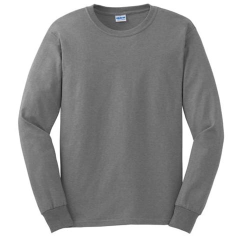 gray sleeve t shirt is shirt