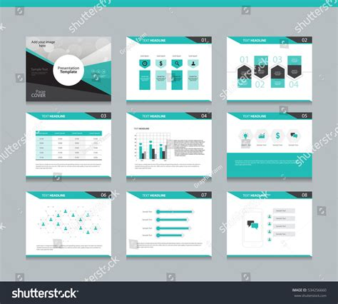 layout design z page layout design template presentation brochure stock
