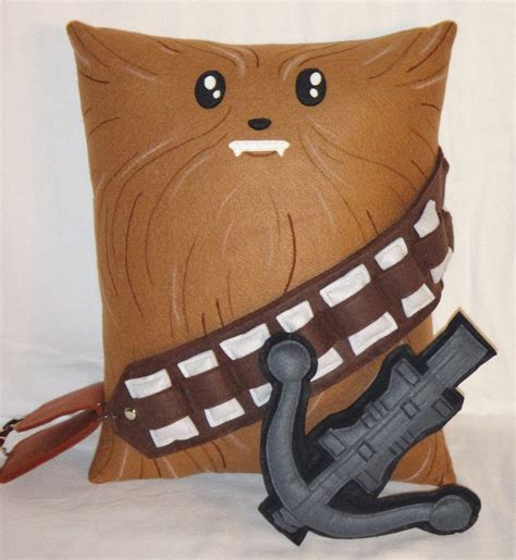 Chewbacca Pillow by Handmade Wars Chewbacca V1 43 Pillow By