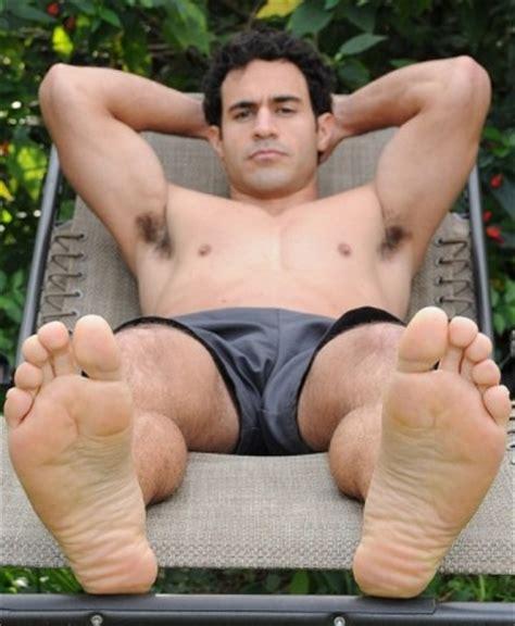 Gay men bare feet