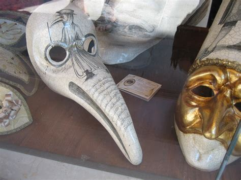 Dr Becco Venezia Black plague masks plague doctors venetian masks masquerades