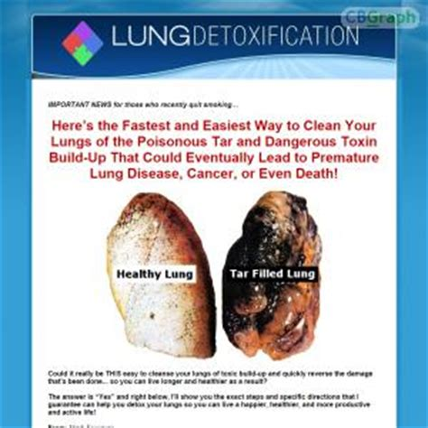 How To Detox Tobacco Damage by Lunghealth Lung Detoxification Clean Your Lungs And