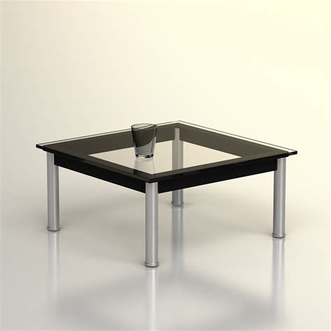 Lc10 Coffee Table 3d Le Corbusier Lc10 Coffee Table High Quality 3d Models