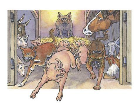animal farm york notes chapter 5 napoleon seizes power summary animal farm grades 9 1