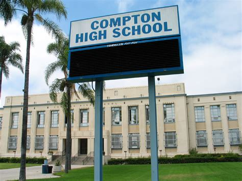 k on high school compton high school