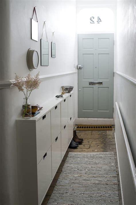 fabulous hallway storage ideas home  gardening ideas