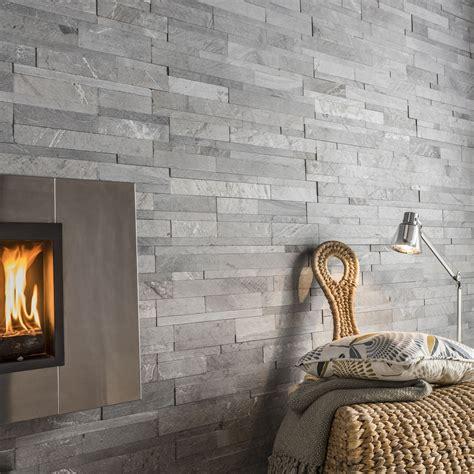 plaquette de parement cuisine plaquette de parement naturelle gris loft leroy