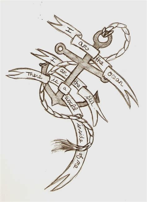 bring me the horizon tattoo bmth anchor draft by minoritsuki on deviantart