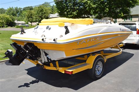 used pontoon deck boats new and used pontoon and deck tahoe boats for sale on