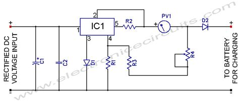 12 volt battery charger circuit diagram gt circuits gt l200 12v constant voltage battery charger