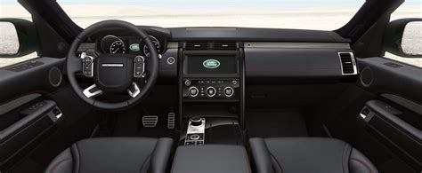 2017 land rover discovery interior 2017 land rover discovery hits middle of luxury suvs