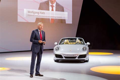 Wolfgang Hatz Porsche by Wolfgang Hatz Officially Leaves Porsche Ag Total 911