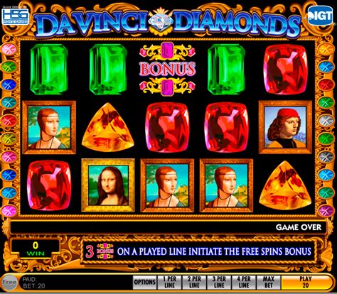 play da vinci diamonds  slot igt casino slots