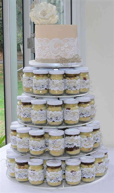 Wedding Cake Jars by Cake Jar Wedding Cake Cakecentral