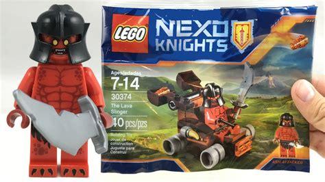 Lego 30374 Nexo Knights The Lava Slinger lego nexo knights lava slinger polybag review 30374