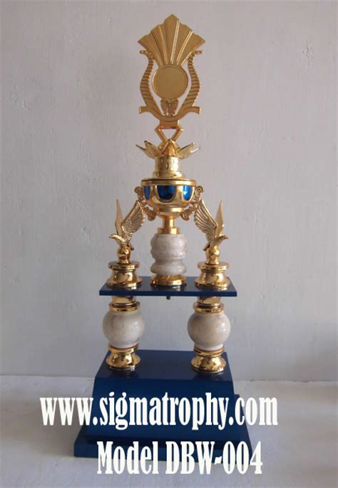 Piala Kaki 2 sigma trophy jual trophy murah pusat trophy marmer