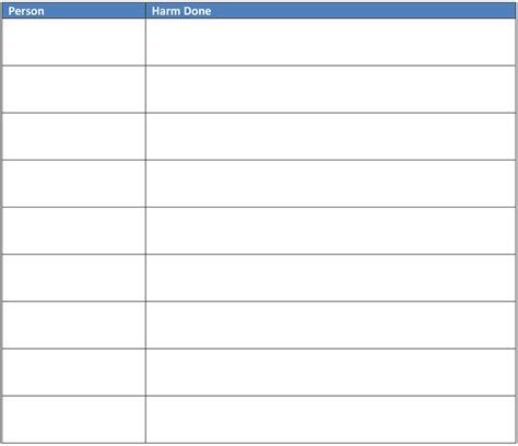 Step Worksheet by Aa 8th Step Worksheet Worksheets For School Getadating