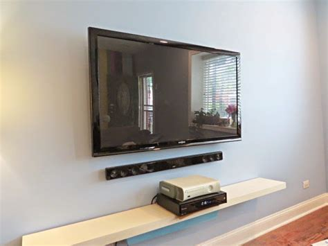 ways to mount a tv how to hide your television and cable wires an easy diy