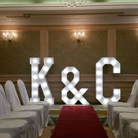Light Up Letters   GIANT Light up Letters Hire