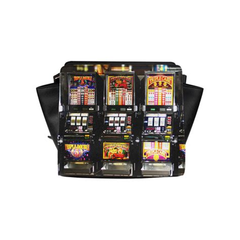 lucky slot machines dream machines satchel bag model