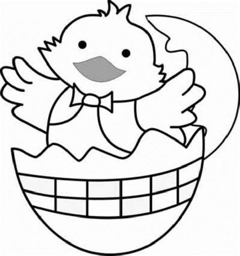 easy easter coloring pages printable easter coloring pages baby chicks animal pinterest