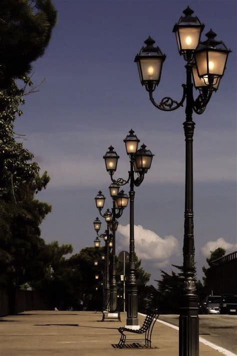 street lights chieti italy street light street lamp