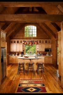log cabin kitchen home sweet home