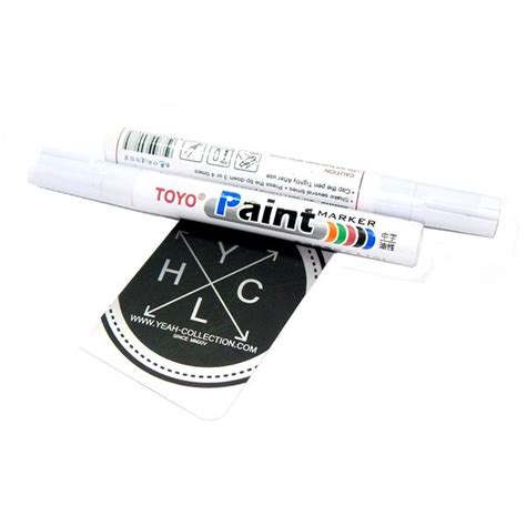 Spidol Ban Mobil Motor Tinta Permanen Toyo Paint Marker Impor Original jual spidol ban toyo marker paint tire yeah collection