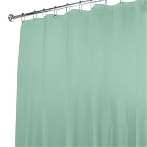 green shower curtain liner buy blue and green shower curtains from bed bath beyond