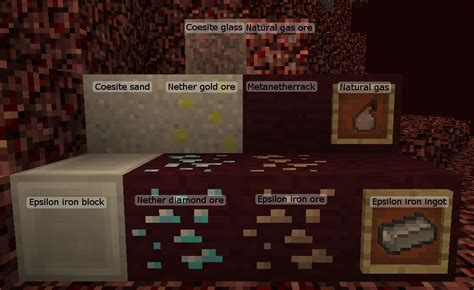 what pattern do you need for the nether reactor more nether blocks coesite sand epsilon iron ores and