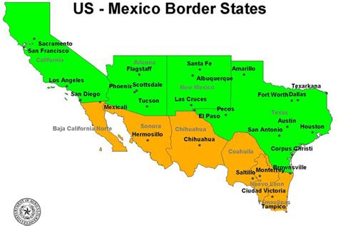 map of the united states and mexico best photos of us and mexico map gulf of mexico and