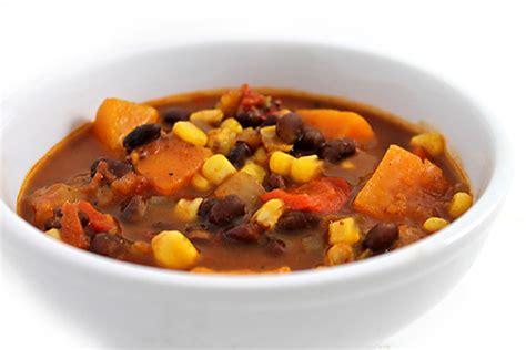 sweet potato black bean stew gluten free with weight watchers points skinny kitchen