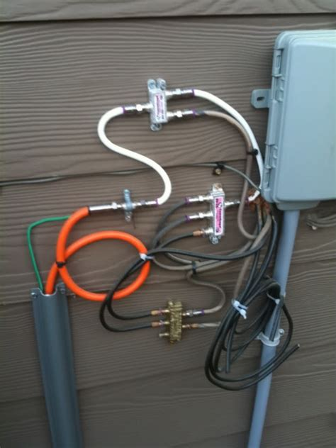 Exterior Cable Tv Junction Box