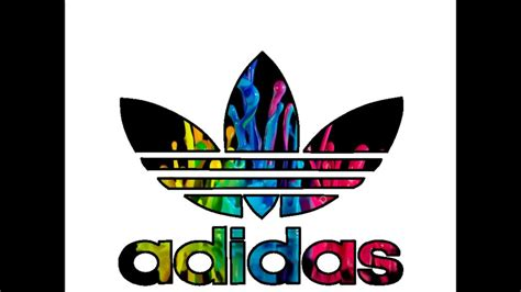 adidas logo remake speed art  youtube