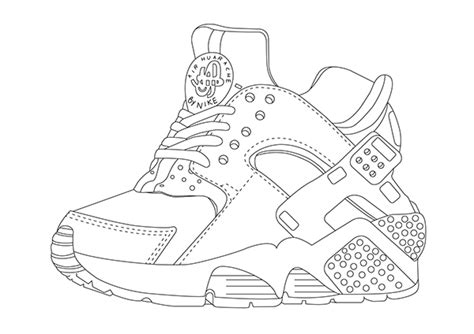 free coloring pages of huaraches